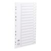 Concord Plastic Index A4 1-15 Dividers Punched Polypropylene 64301 - Fusion Office UK