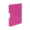 Elba Bright Ring Binders A4 Purple Polyprop 400104457 [Pack 10] | Made from durable translucent polypropylene | Fusion Office UK