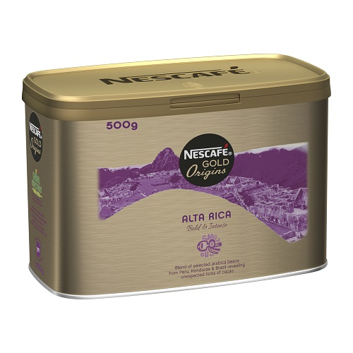 Nescafe Alta Rica Coffee 500g | Rich aroma and deep, rounded taste | Premium coffee experience | 100% Arabica beans | Fusion Office UK