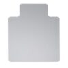 Polycarbonate Carpet Chair Mat Lipped 890x1190mm   gripper back for carpet application   Extremely Durable   Fusion Office