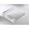 Rexel Nimbus Letter Tray Clear 2101504 | High quality clear acrylic finish | Sleek, contemporary lines | The look of glass | Fusion Office UK