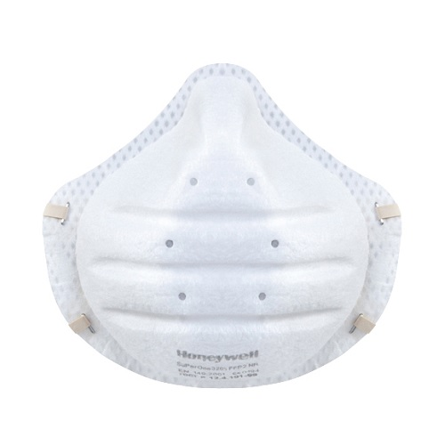 FFP2 Face Masks Honeywell Superone 3205 [Pack 30] | Pre-formed shell: rigid half-mask: the mask shape is maintained | Fusion Office