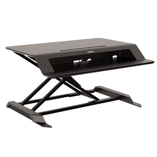 Fellowes Lotus LT Sit Stand Workstation 8215001 | Easily transition from sitting to standing | Fusion Office