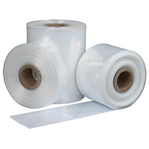 "Layflat Tubing 500GA 102mm / 4"" x 210m Heavy Duty Roll   High quality polythene tubing   Cut bags to any length   Fusion Office"