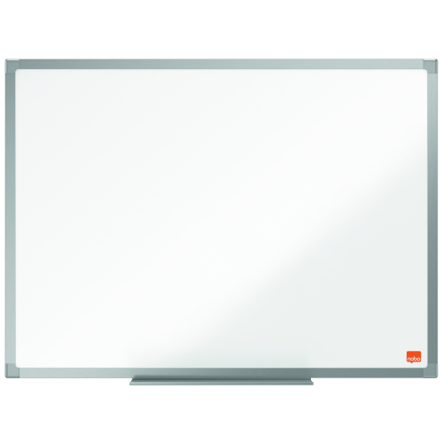 Nobo Essence 600x450mm Steel Magnetic Whiteboard 1905209 | Steel surface with increased erasability, for frequent use | Fusion Office UK