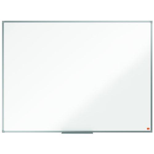 Nobo Essence 1200x900mm Steel Magnetic Whiteboard 1905211 | Steel surface with increased erasability, for frequent use | Fusion Office UK