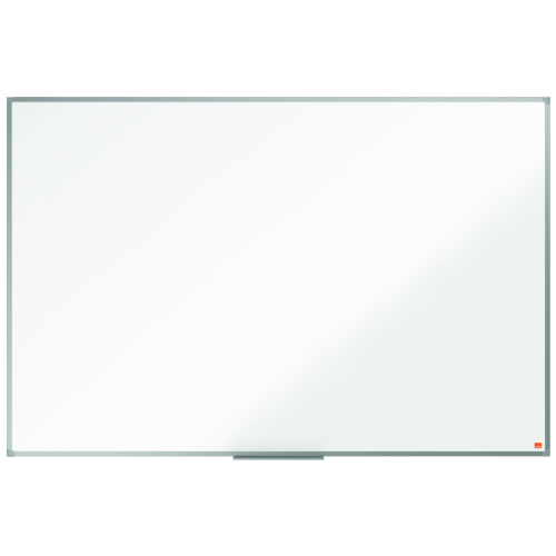 Nobo Essence 1500x1000mm Steel Magnetic Whiteboard 1905212 | Steel surface with increased erasability, for frequent use | Fusion Office UK