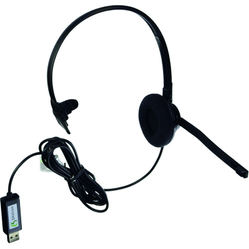 Analogue Monaural Headset USB Nuance HS-GEN-25   USB enhanced digital sound   Adjustable microphone   Fusion Office