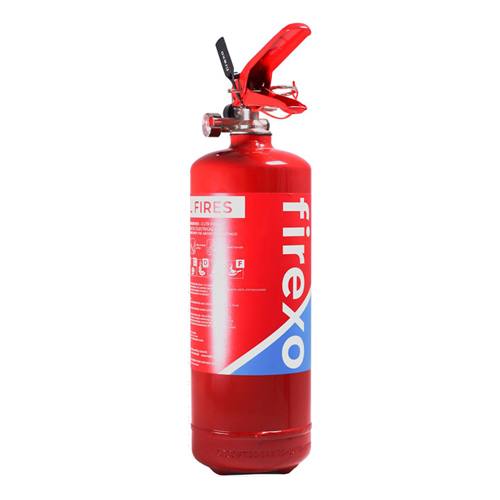 Firexo Extinguisher 2 Litres FX-2L | It is safe to use on all fires | Prevents risk of reigniting | EN3:7+A1:2007 | Fusion Office