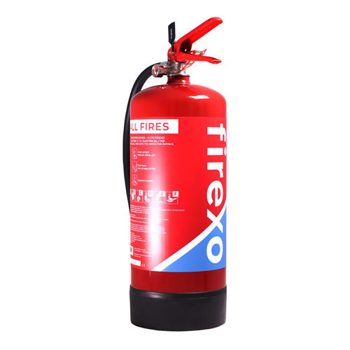 Firexo Extinguisher 6 Litres FX-6L | It is safe to use on all fires | Prevents risk of reigniting | EN3:7+A1:2007 | Fusion Office