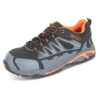 Composite Safety Trainers Size 6 EU39 | Shock absorbing insole | Composite toe & midsole | Water resistant | Fusion Office