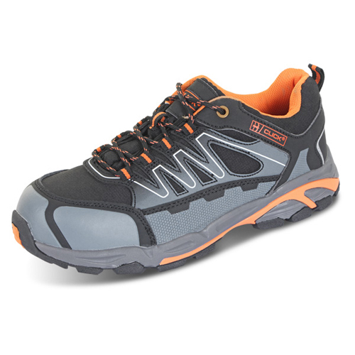 Composite Safety Trainers Size 6.5 EU40   Shock absorbing insole   Composite toe & midsole   Water resistant   Fusion Office