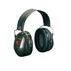 3M H520A-407-GQ PELTOR Optime II Earmuffs 31dB Green Headband | Reduces noise levels up to 31 dB | Large space inside cups | Fusion Office UK