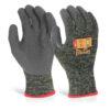 Palm Coated Gloves Medium Glovezilla [Pair]   Latex palm Coating   Ventilated back   Lightweight   Fusion Office