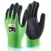 Level 5 Cut Glove Medium Micro Foam Nitrile Kutstop [Each] | Black nitrile coated palm | Level 5 cut protection | Fusion Office