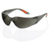 Grey Safety Spectacles Vegas BBVSS2GY | Grey Safety Glasses | Polycarbonate wrap around lens & one piece side arms | Fusion Office