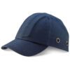 Safety Baseball Cap Blue BBSBCN | 100% cotton baseball cap with ventilation holes | EN812: 2012 | Fusion Office