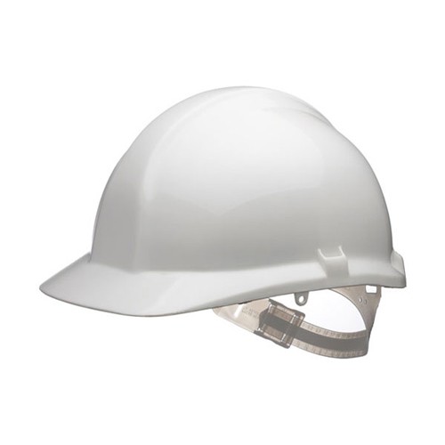 1125 Safety Helmet White Centurion CNS03WA | General purpose HDPE helmet | Slip headband & Terylene cradle | Fusion Office