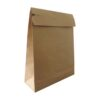 Paper Mailing Bags 350x450x80mm Expanding Block Bottom [200]   Tear strip and perforation   Kraft Mailing Bags   Fusion Office