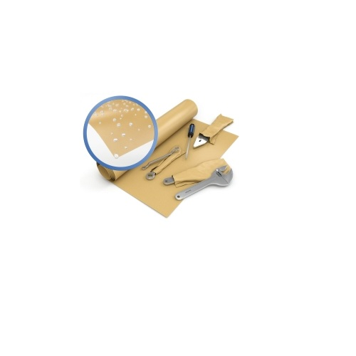Waxed Kraft Paper Packaging Roll 900mm x 100m | Robust & Strong | Tear & Puncture Resistant | Fusion Office