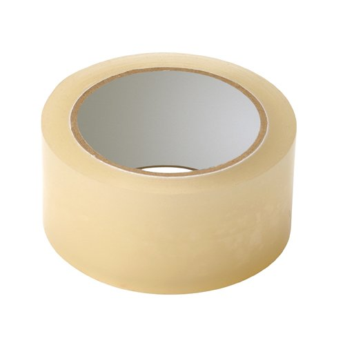 Packaging Tapes Low Noise Clear 48mm x 66m [Box 36] | Bulk Pack | Transparent Polypropylene | Silent unwinding | Fusion Office
