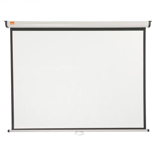 Nobo Wall Screen 1500x1138mm 4:3 1902391   Brilliant matt white projection screen surface for high quality projection   Fusion Office UK