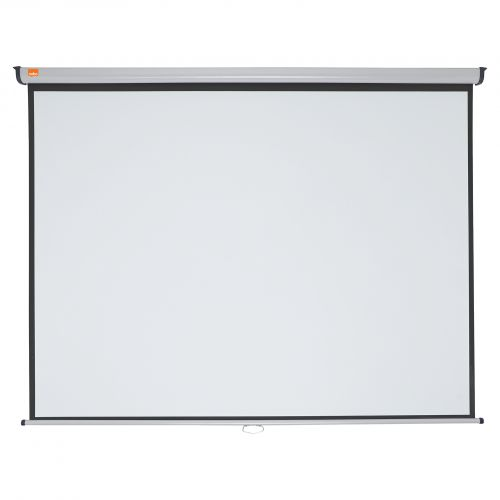 Nobo Wall Screen 2000x1513mm 4:3 1902393 | Brilliant matt white projection screen surface for high quality projection | Fusion Office UK