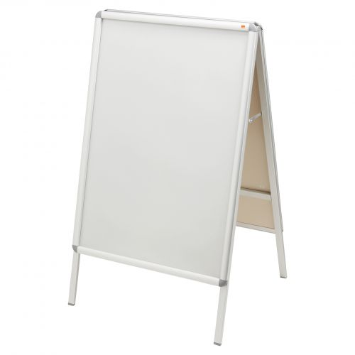 Nobo A-Board 700x1000mm 1902205   Free-standing double-sided sign holder   Display area size 700x1000mm   Fusion Office UK