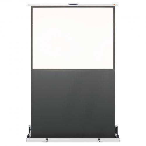 Nobo Projection Screen Portable 1220x910mm 1901955 | Brilliant matt white surface for high quality colour projection | Fusion Office UK