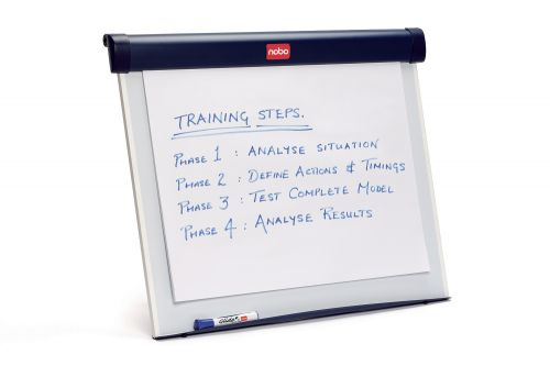 Nobo Barracuda Desktop Flipchart Easel 1902267 | Supplied with a carry bag, B1 flip pad and marker | Desktop size | Fusion Office UK