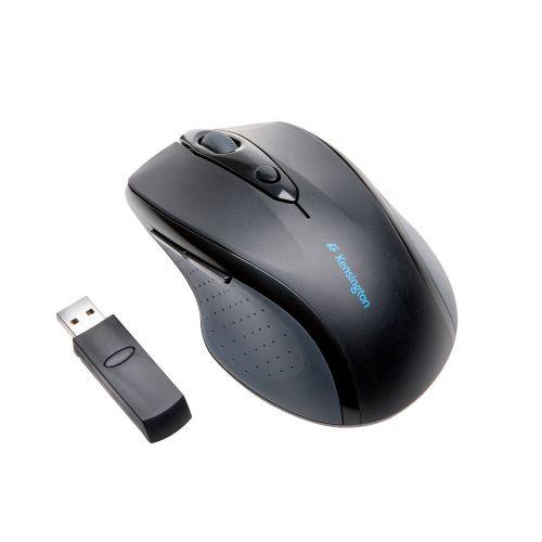 Kensington Pro Fit Wireless Mouse Full Size K72370EU | Ergonomic design matches natural hand curvature | Fusion Office UK