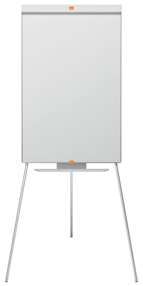 Nobo Classic Nano Tripod Easel 1901916   Steel magnetic whiteboard surface   Height adjustable   15 year surface guarantee   Fusion Office UK