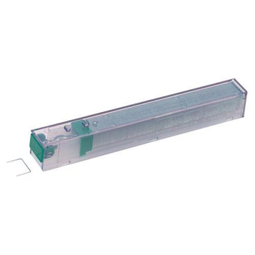 Leitz Staples Cartridge 26/10 10mm Green 55930000 [Pack 5] | Leitz Power Performance K10 Cartridge | 10mm leg length | Fusion Office UK