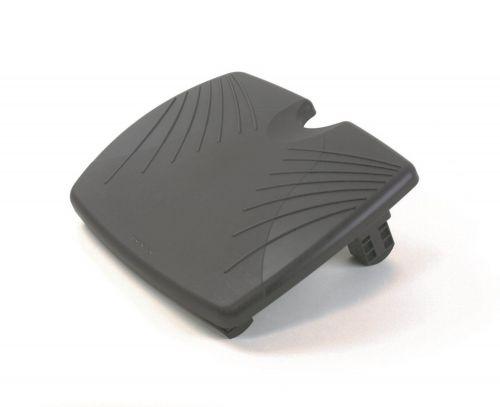 Kensington SoleRest Footrest 56148   Multiple tilt options for personalised comfort   Contoured foot grip panel   Fusion Office UK