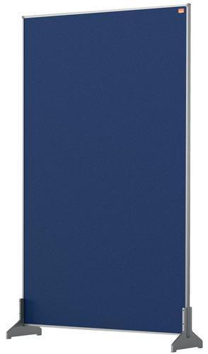 Nobo Desk Screen 600x1000mm Blue 1915508   Create a versatile modular configuration   Felt pinnable surface   Fusion Office UK