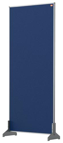 Nobo Desk Screen 400x1000mm Blue 1915509   Create a versatile modular configuration   Felt pinnable surface   Fusion Office UK