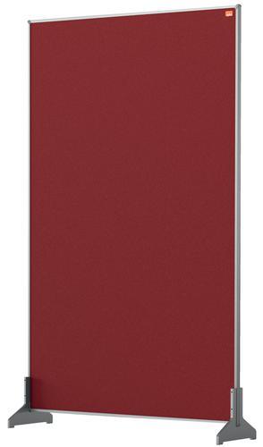 Nobo Desk Screen 600x1000mm Red 1915513   Create a versatile modular configuration   Felt pinnable surface   Fusion Office UK