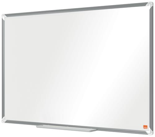 Nobo Steel Whiteboard 900x600mm Magnetic 1915155   Steel magnetic surface delivering increased erasability   Moderate use   Fusion Office UK