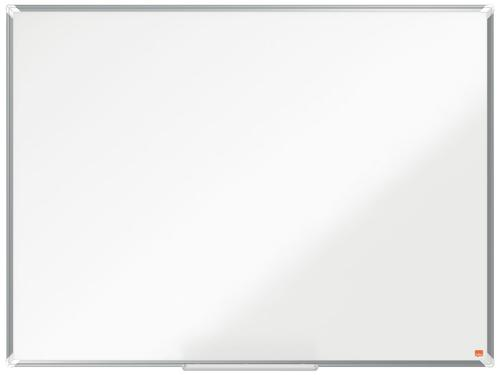 Nobo Steel Whiteboard 1200x900mm Magnetic 1915156   Steel magnetic surface delivering increased erasability   Moderate use   Fusion Office UK