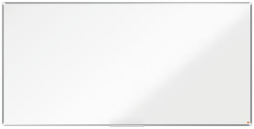 Nobo Steel Whiteboard 2400x1200mm Magnetic 1915163 | Steel magnetic surface delivering increased erasability | Moderate use | Fusion Office UK