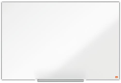 Nobo Steel Whiteboard 900x600mm Magnetic 1915395 | Steel magnetic surface delivering increased erasability | Moderate use | Fusion Office UK