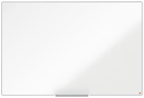 Nobo Enamel Whiteboard 1500x1000mm Magnetic 1915397 | Enamel surface with a superior level of erasability | Frequent use | Fusion Office UK