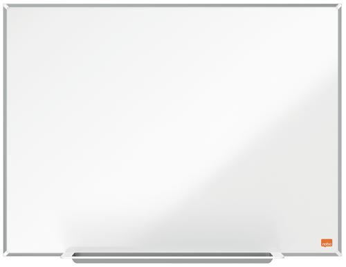 Nobo I-Pro Steel Whiteboard 600x450mm Magnetic 1915401 | Steel surface delivering increased erasability | For moderate use | Fusion Office UK