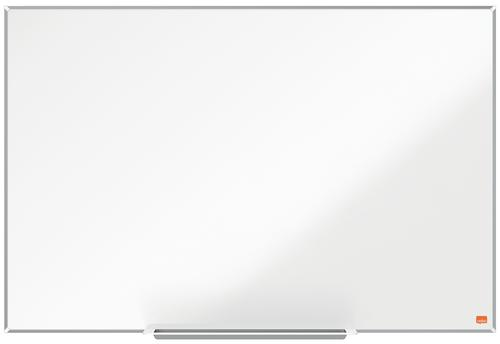 Nobo I-Pro Steel Whiteboard 900x600mm Magnetic 1915402 | Steel surface delivering increased erasability | For moderate use | Fusion Office UK