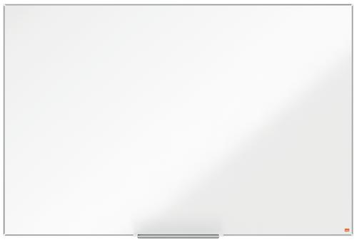 Nobo I-Pro Steel Whiteboard 1500x1000mm Magnetic 1915404 | Steel surface delivering increased erasability | Moderate use | Fusion Office UK