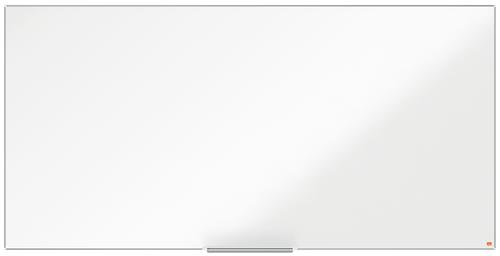 Nobo I-Pro Steel Whiteboard 2000x1000mm Magnetic 1915407   Steel surface delivering increased erasability   Moderate use   Fusion Office UK