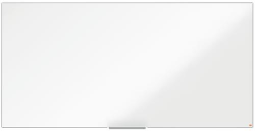 Nobo I-Pro Steel Whiteboard 2400x1200mm Magnetic 1915408   Steel surface delivering increased erasability   Moderate use   Fusion Office UK