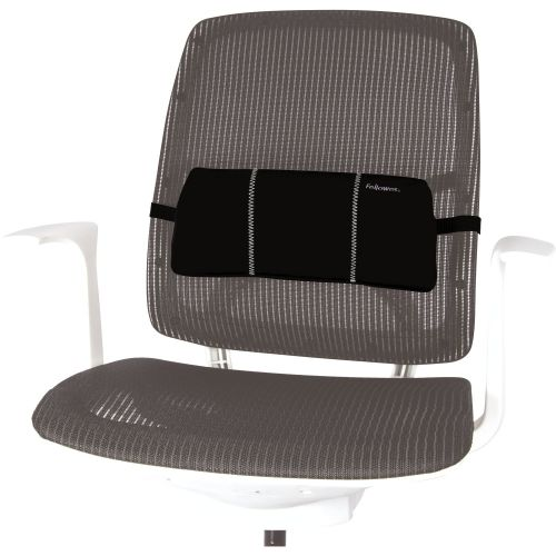 Fellowes Portable Lumbar Support Smart Series 8042101   Compact design for use on the move   Fusion Office