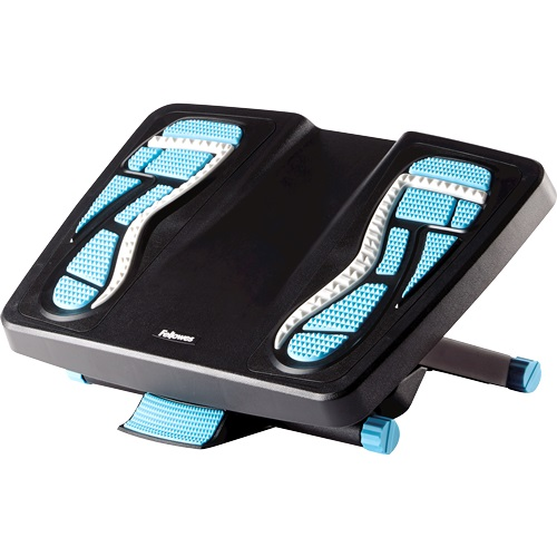 Fellowes Energizer Foot Support 8068001   Energising rubber foot pads offer various massage textures and contours   Fusion Office