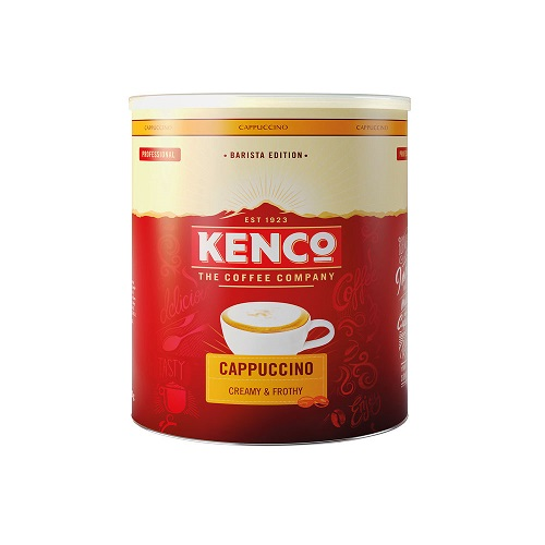 Kenco Cappuccino Instant Coffee 750g | An expertly crafted barista style coffee with the taste of Kenco | Fusion Office